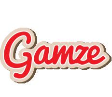 Gamze chocolate logo