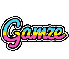 Gamze circus logo