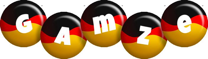 Gamze german logo