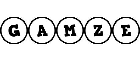 Gamze handy logo