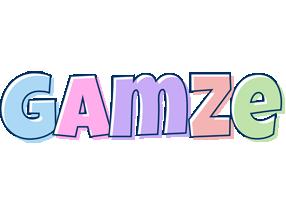 Gamze pastel logo
