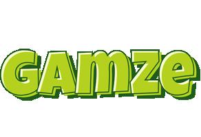 Gamze summer logo