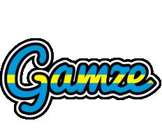 Gamze sweden logo
