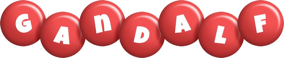 Gandalf candy-red logo