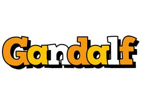 Gandalf cartoon logo