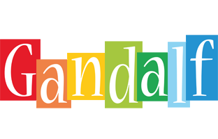 Gandalf colors logo