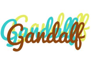 Gandalf cupcake logo