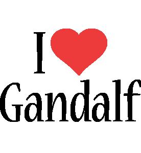 Gandalf i-love logo