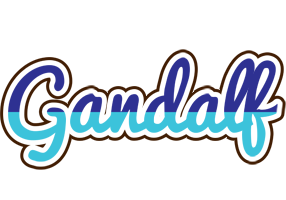 Gandalf raining logo