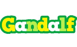 Gandalf soccer logo