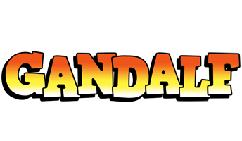 Gandalf sunset logo