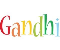 Gandhi birthday logo
