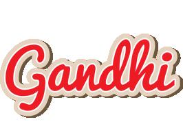 Gandhi chocolate logo