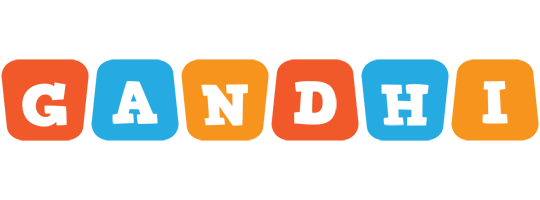 Gandhi comics logo