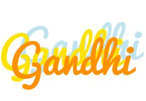 Gandhi energy logo