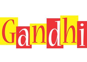 Gandhi errors logo