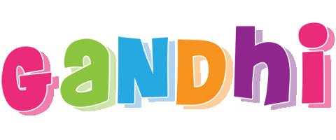 Gandhi friday logo
