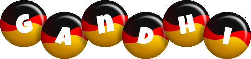 Gandhi german logo