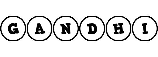 Gandhi handy logo