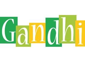 Gandhi lemonade logo
