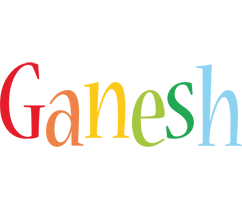 Ganesh birthday logo