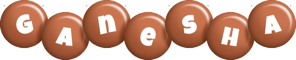 Ganesha candy-brown logo