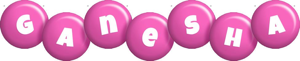 Ganesha candy-pink logo