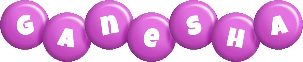 Ganesha candy-purple logo