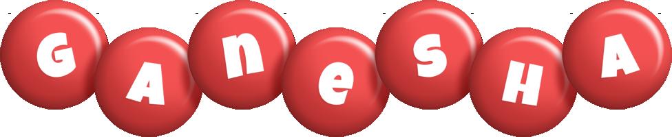Ganesha candy-red logo