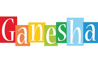 Ganesha colors logo