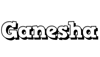 Ganesha snowing logo