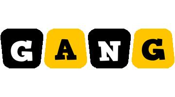 Gang boots logo