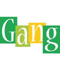 Gang lemonade logo