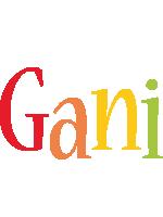 Gani birthday logo