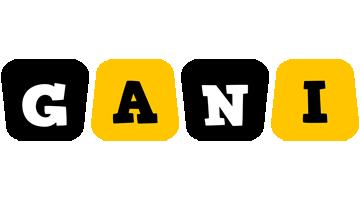Gani boots logo