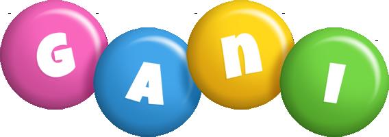 Gani candy logo