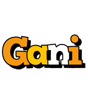Gani cartoon logo