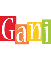 Gani colors logo
