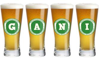 Gani lager logo