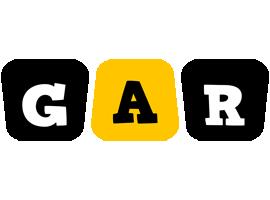 Gar boots logo