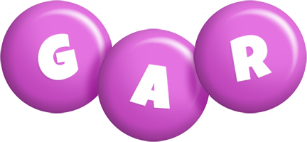 Gar candy-purple logo