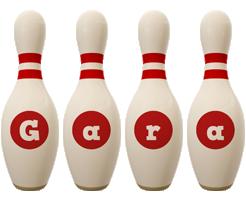 Gara bowling-pin logo