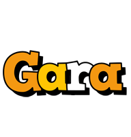 Gara cartoon logo