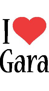Gara i-love logo