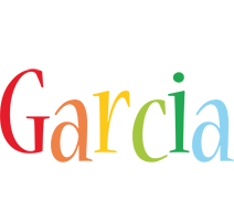 Garcia birthday logo
