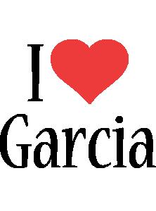 Garcia i-love logo