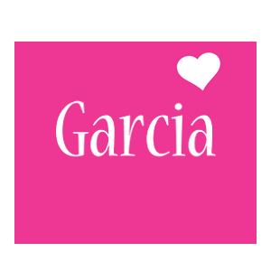 Garcia love-heart logo