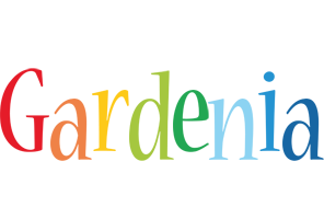 Gardenia birthday logo