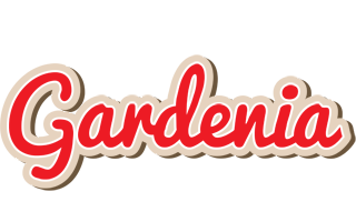 Gardenia chocolate logo