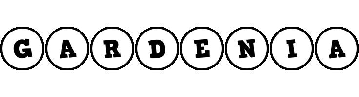 Gardenia handy logo